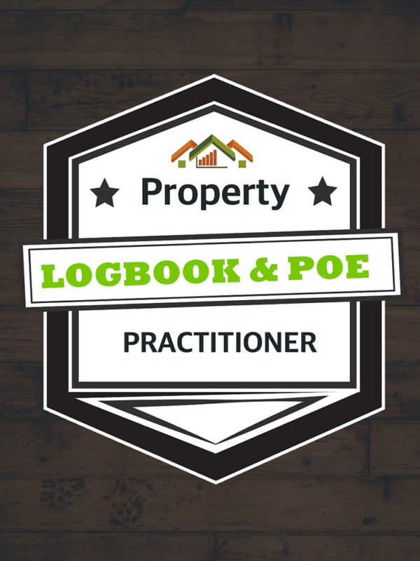 Logbook and portfolio of evidence training course badge