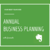 Cover image of Annual Business Planning with Evernote course for estate agents